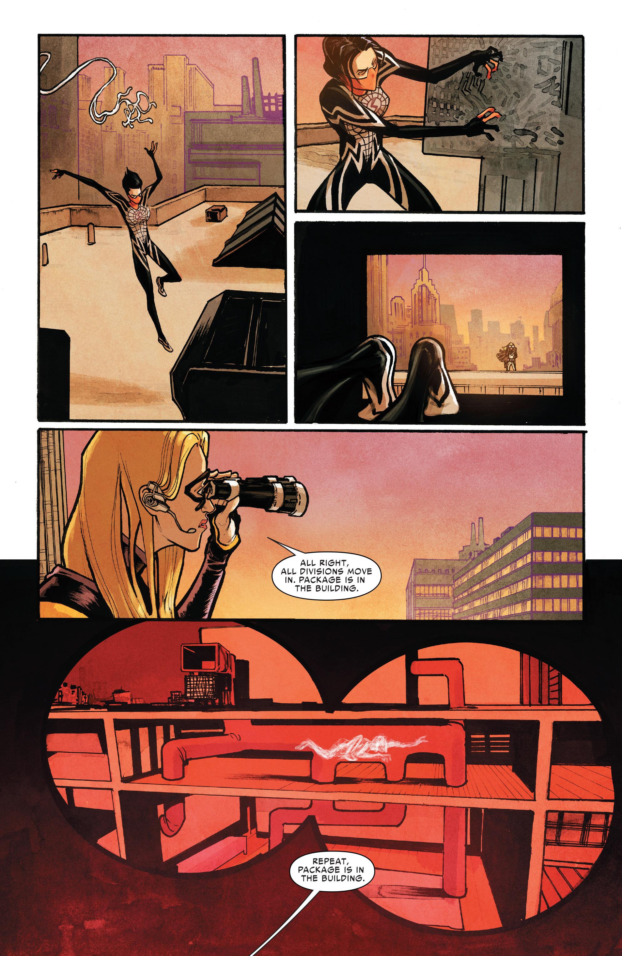 Read online Silk (2016) comic -  Issue #10 - 9
