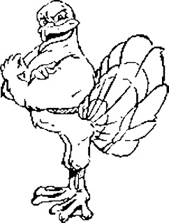hokie bird coloring pages - photo#5