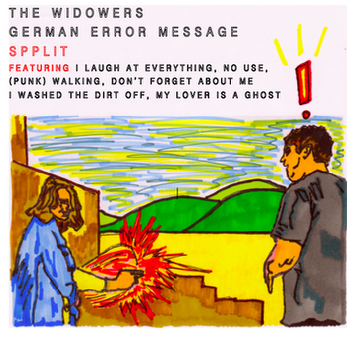 German Error Message / The Widowers - 2011 - SPPLIT