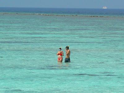 In Maldive, in apa
