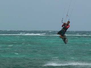 kite diving in Boracay