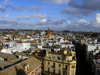 Imagini Andaluzia: Sevilla vazuta din Giralda