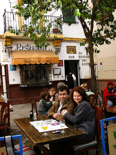 Imagini Spania: cartierul Santa Cruz Sevilla