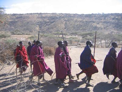 Imagini Kenya: dans masai