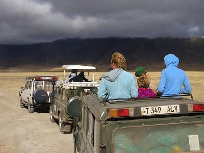 safari in craterul Ngorongoro