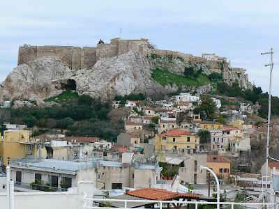 Obiective turistice Atena: Acropole pe deal