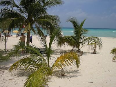 Plaja Alba din Isla Mujeres