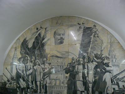 Lenin in Metro Moscova