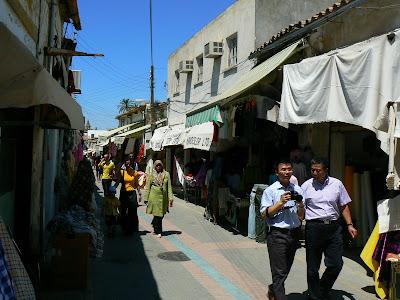 Shopping Cipru: bazarul din Nicosia de Nord
