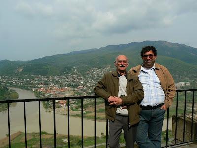 Imagini Georgia: cu Eduard la Msekhta