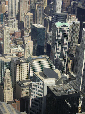 Imagini SUA: panorama din Sears Tower Chicago