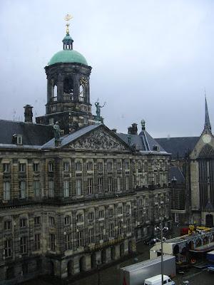 Obiective turistice Amsterdam: Palatul regal din Dam