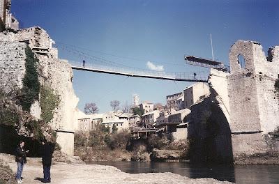 Imagini Mostar: podul vechi