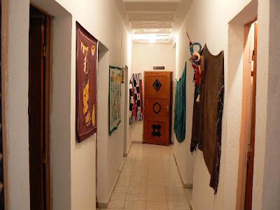Cazare Mali: hotel Y'a Pas de Probleme Mopti - culoar