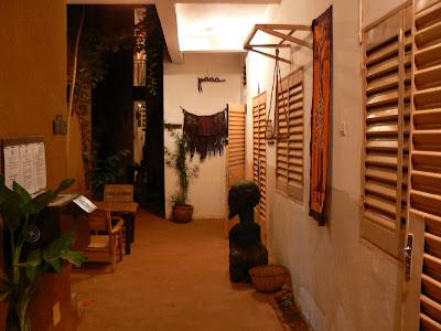 Cazare Mali: hotel Y'a Pas de Probleme Mopti - langa receptie