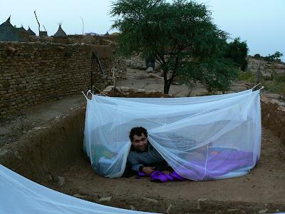 Cazare Mali: scularea dimineata in Pays Dogon