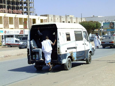 Transport Mauritania: transport in comun in Nouakchott
