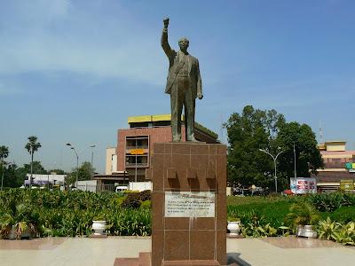 Imagini Mali: statuia lui Patrice Lumumba