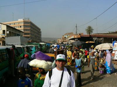 Imagini Mali: piata africana