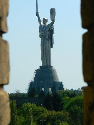 Imagini Ucraina: Muzeul Razboiului Kiev, Mama Patrie