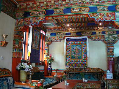 Cazare Tibet: hotel Dhod-Gu Lhasa receptia