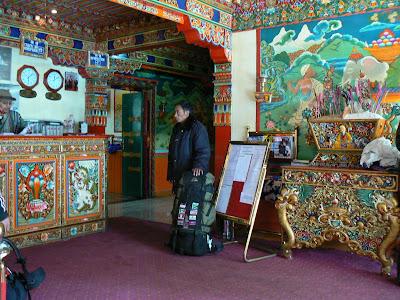 Imagini Tibet: hotel Dhod-Gu Lhasa receptie