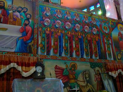 Imagini Etiopia: manastirea Debre Libanos