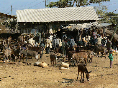 Imagini Etiopia: moara la Awramba