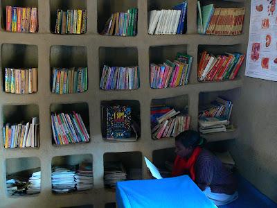 Imagini Etiopia: biblioteca Awramba