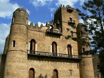 Imagini Etiopia: palatul din Gonder