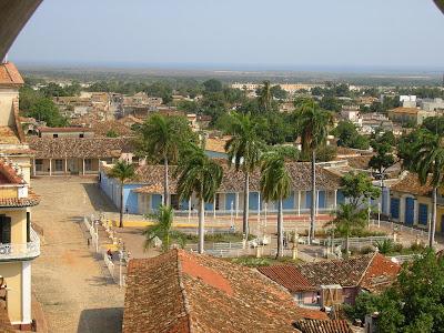 Imagini Cuba: Piata Centrala Trinidad