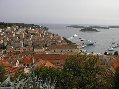 Imagini Croatia: Hvar, oras istoric