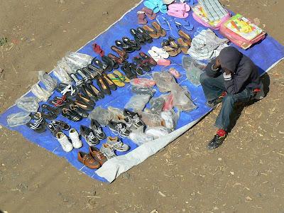 Imagini Etiopia: comert in Debark