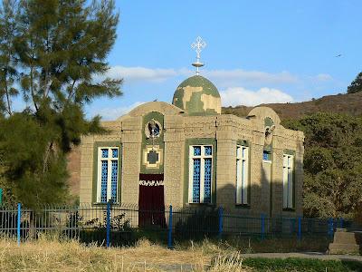 Imagini Etiopia: Sf. Maria din Sion, Aksum, capela cu chivotul legii