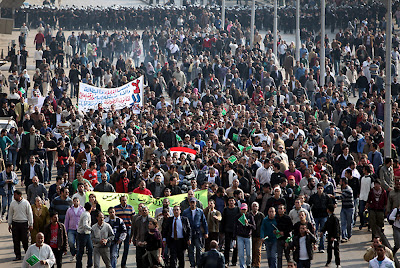 Lumea araba in clocot: Revolutia egipteana