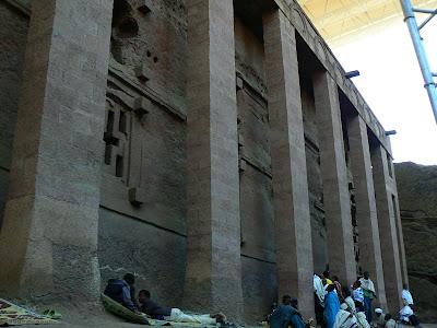 Imagini Etiopia: Bet Medhane Alem Lalibela