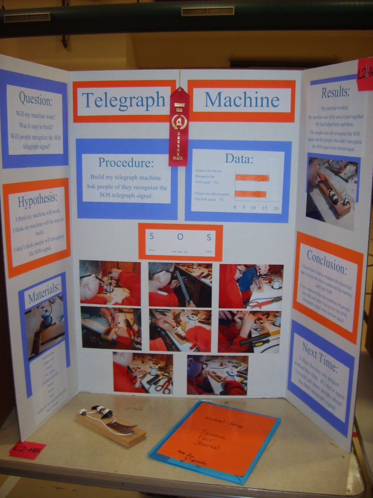 My Four Sons And A Husband 3rd Grade Science Fair