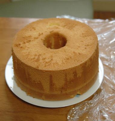 Recette Du Chifon Cake