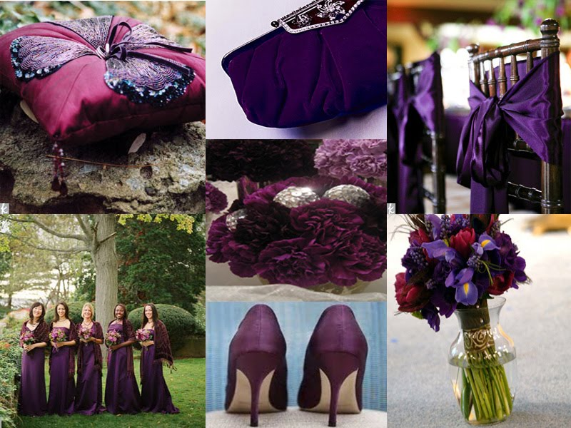 Purple Fall Wedding