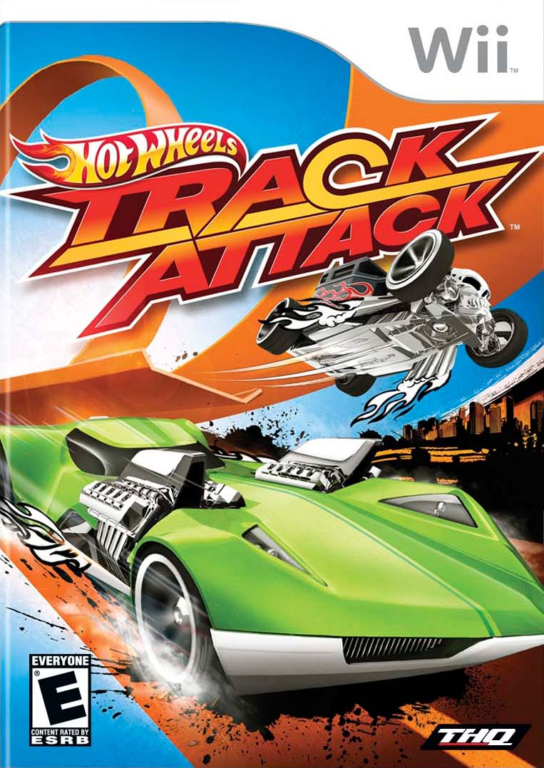 Car Games Hot Wheels Track Attack