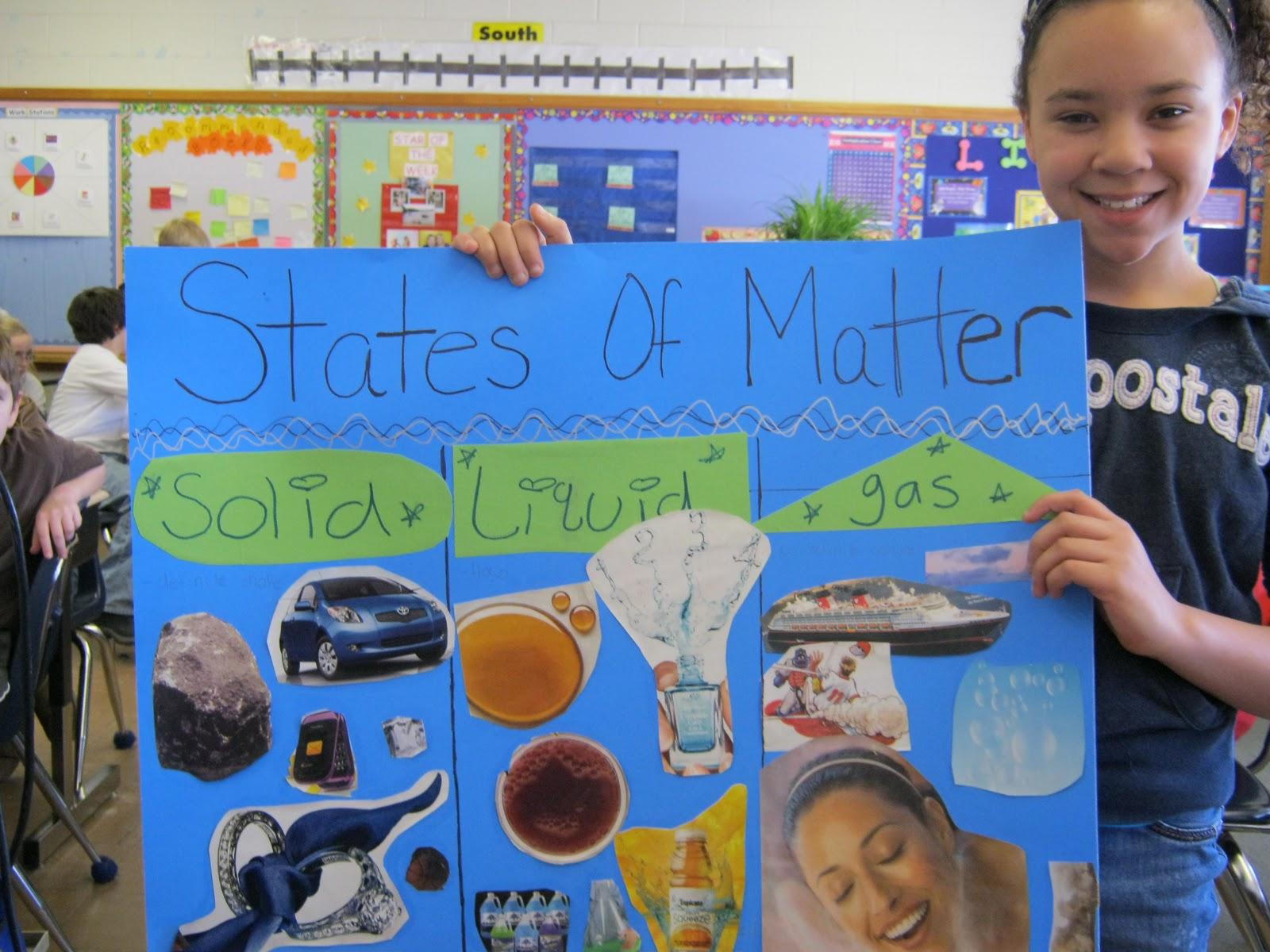 Mrs Seegert S Blog States Of Matter Projects