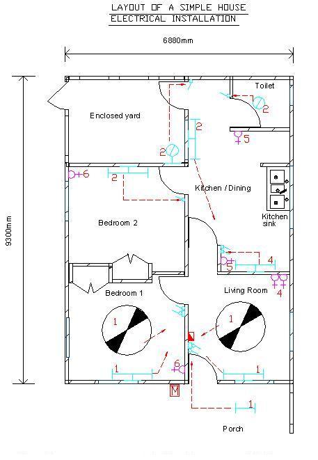 Home Wiring Installation Wiring Diagram