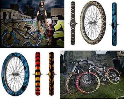 Pneu Grafitado para Bicicleta
