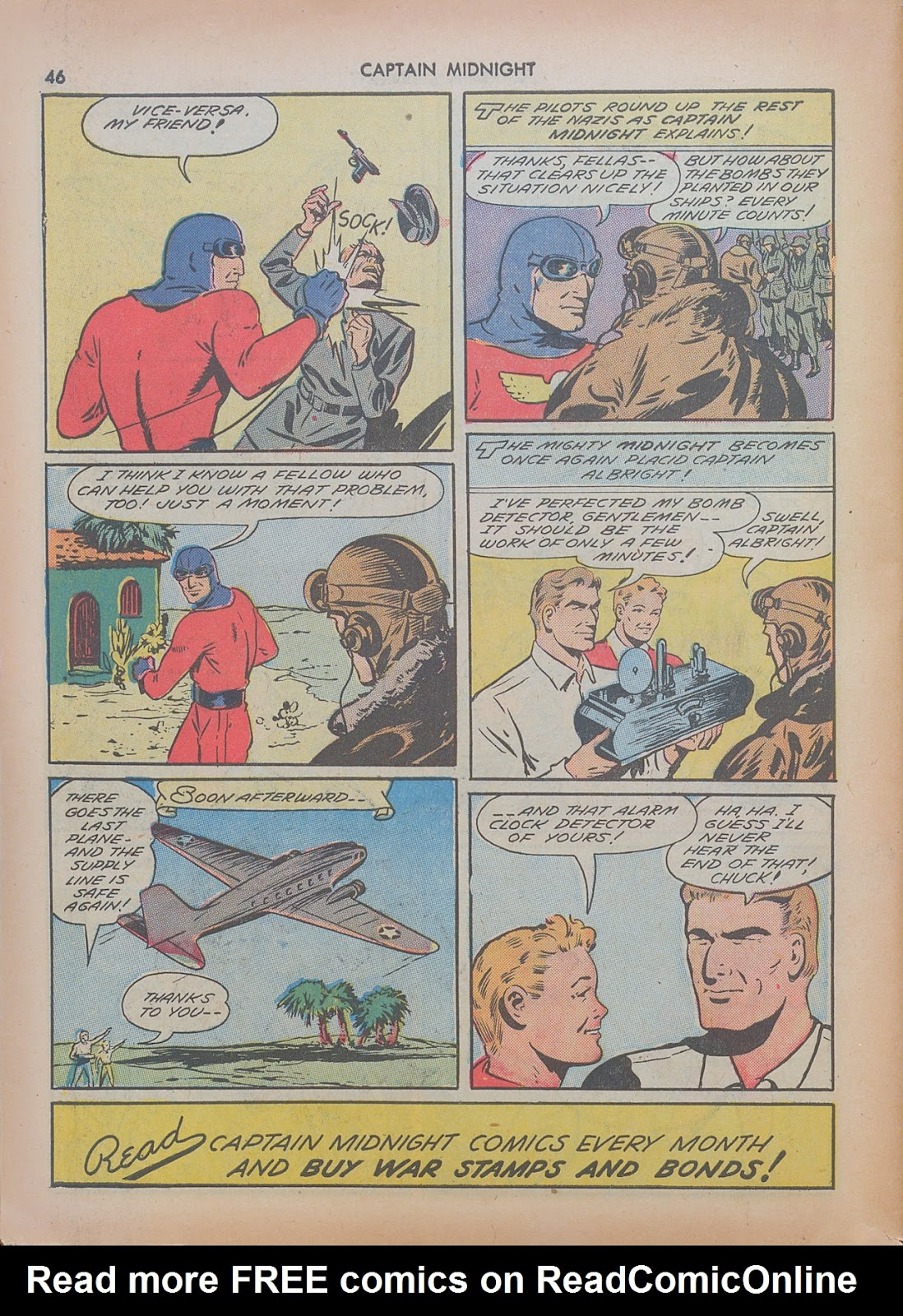 Captain Midnight (1942) issue 7 - Page 46