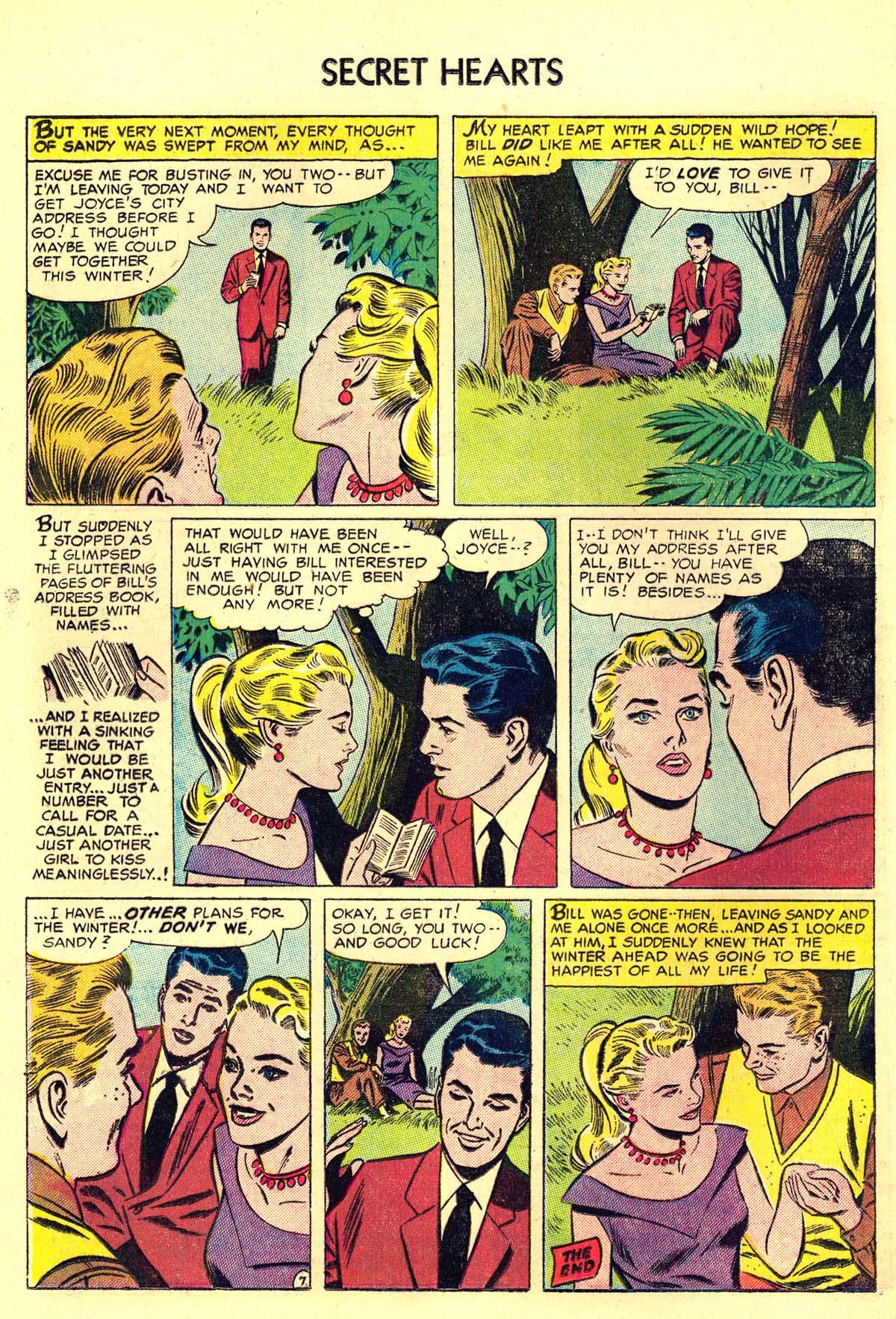 Read online Secret Hearts comic -  Issue #34 - 24