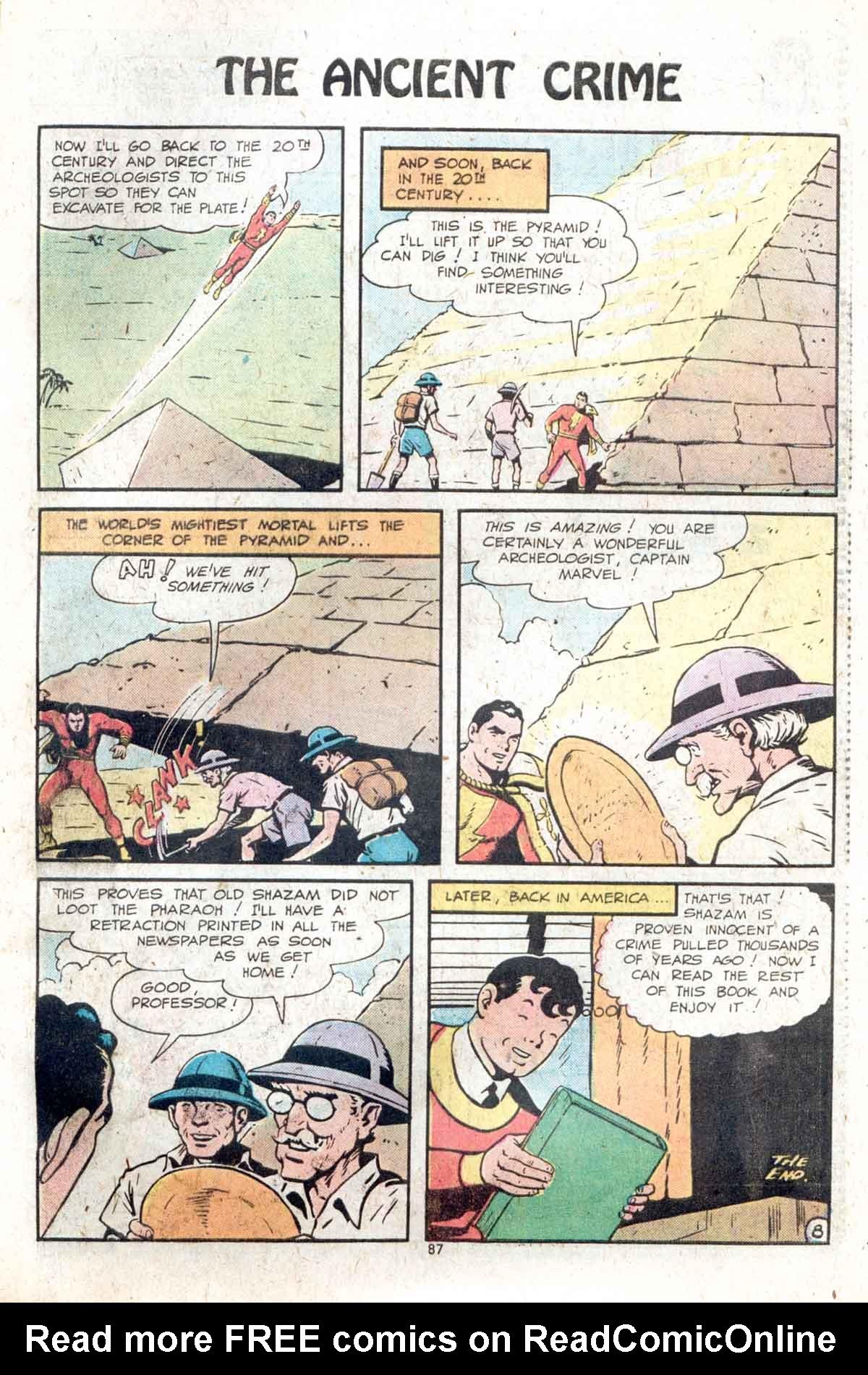 Read online Shazam! (1973) comic -  Issue #13 - 88