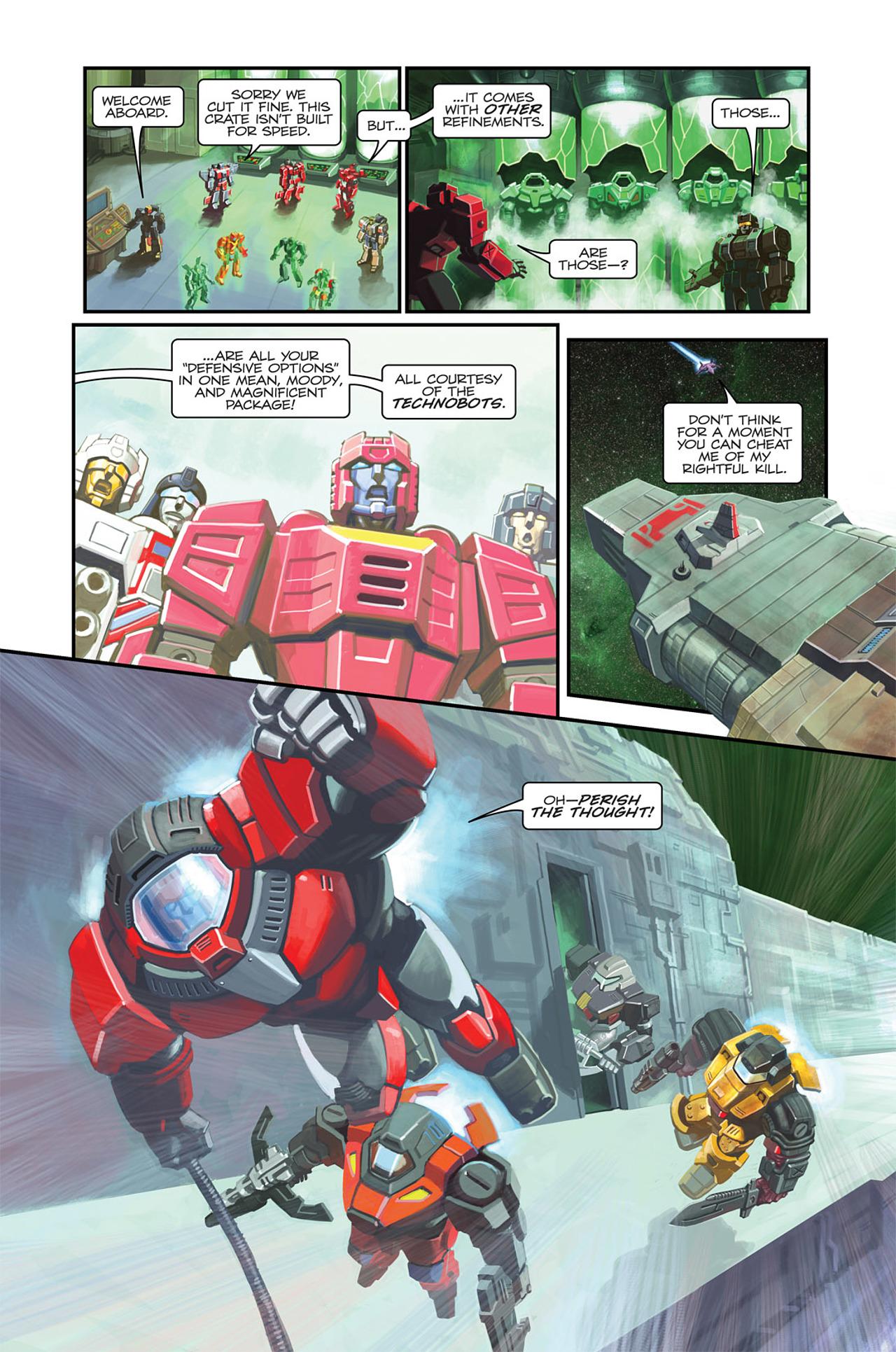 Read online Transformers Spotlight: Sideswipe comic -  Issue # Full - 10