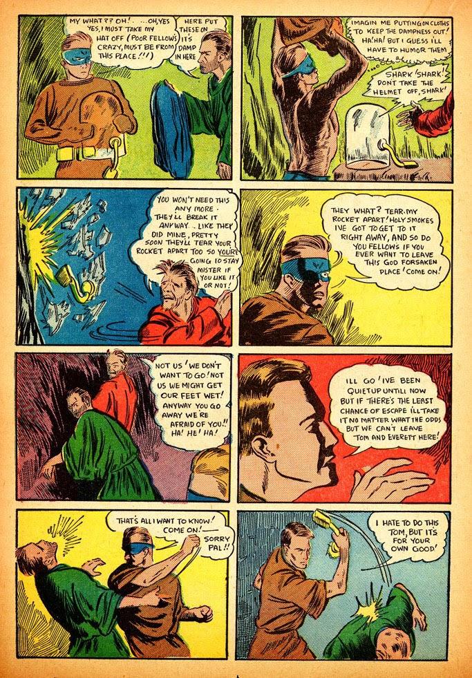 Read online Amazing Man Comics comic -  Issue #12 - 40