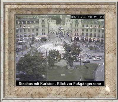 Webcam München Stachus