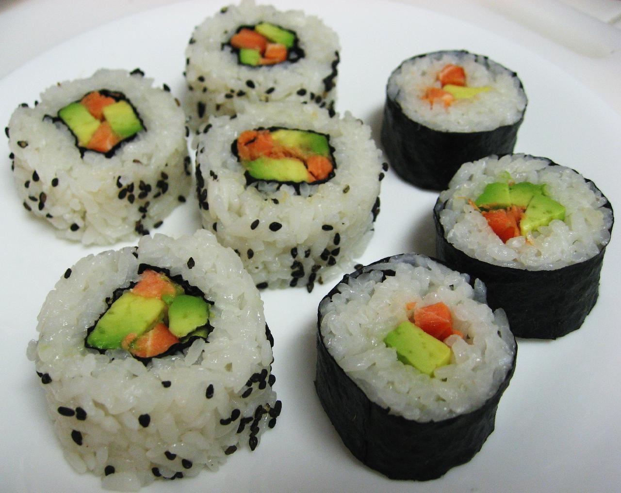 Pennies From Heaven life of a Mom and Nanna Sushi Roll Recipe